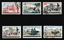 0.5F-5F, MALI 'Agriculture/Cattle' Stamps set of 6, issued 1961 - Used / Fine