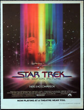 STAR TREK THE MOTION PICTURE 1979 FILM MOVIE POSTER PAGE . WILLIAM SHATNER