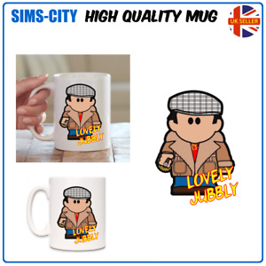 DEL BOY LUVELY JUBBLY ONLY FOOLS COFFEE AND TEA MUG CUP TROTTER HORSES MG104