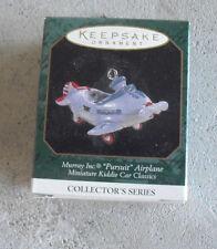 1997 Hallmark Ornament Miniature Kiddie Car Murray Pursuit Airplane Nib