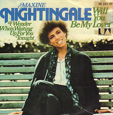 "MAXINE NIGHTINGALE ‎– Will You Be My Lover (1977 SOUL VINYL SINGLE 7"" GERMAN PS)"