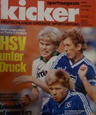 Kicker 1986 , Nr.68 , HSV schlägt Werder Bremen