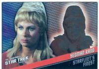 Star Trek TOS Quotable Starfleets Finest Chase Card [399] F9 Yeoman Rand
