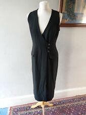 PRINCIPLES WOMENS LADIES STUNNING VINTAGE RETRO STYLE DRESS SIZE 12 BLACK