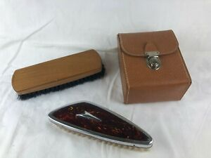 VINTAGE - MENS BRUSHES - SEE PHOTOS - NICE OLD LOT