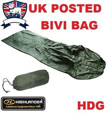 HIGHLANDER BRITISH ARMY KESTREL BIVI BAG  RIPSTOP BREATHABLE SHELTER TENT BASHA