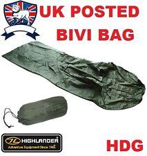 Highlander British Army Kestrel Bivi Bag Ripstop Breathable Shelter Tent Basha