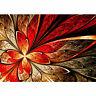Fototapete Ornament abstrakt 3D Rot braun Hintergrund liwwing no. 115