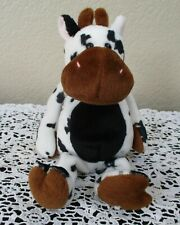 Ty Beanie Baby Tispy the Black & White Cow NO TAG
