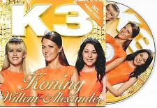 K3 - Koning Willem-Alexander CD SINGLE 2TR CARDSLEEVE 2013 VERY RARE!!