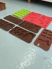 8 Small Silicone Moulds