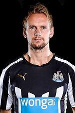 Football Photo>SIEM DE JONG Newcastle United 2014-15