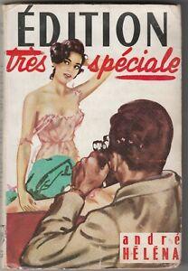 André HELENA EDITION TRES SPECIALE Erotique 1958 Le Chardon Rouge BE