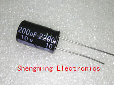 20pcs 2200uF 10V 105°C Electrolytic Capacitor 10x17mm