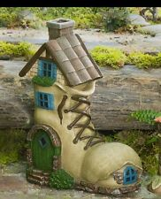 """CONCRETE PLASTER MOLD LATEX ONLY 10"""" tall boot gnome home"""