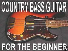 Learn Country Bass Electric Guitar Beginners DVD Lesson