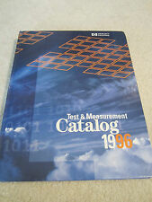 Hp Hewlett Packard Test Mess- Katalog 1996