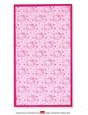 Hello Kitty Telo Mare Piscina Bagno Rosa Fuxia 180x100cm Spugna Gabel Sanrio