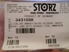 Karl Storz 34310SK CLICKLINE MANHES MICRO SCISSORS 5MM X 36CM