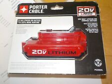 BRAND NEW NEVER OPENED Porter Cable 2.0 AH 20V Lithium Ion Battery PCC682L