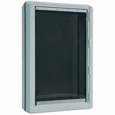 "IDEAL PET PRODUCTS DSRWSL  Grey RUFF-WEATHER PET DOOR SUPER LARGE GREY 5.75"" ..."