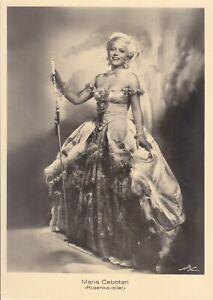 OPERA SINGER PHOTO/POSTCARD OF Maria Cebotari soprano in Der Rosenkavalier