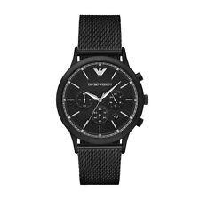 Emporio Armani Renato AR2498 Black Stainless Steel Analog Quartz Men's Watch