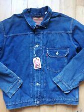veste jeans levi's vintage clothing big E type 1 LEVIS  lined Jacket L