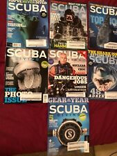 2015 Scuba Diving Magazines 8 Issues, Entire Year