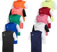 Adidas Kids Boys T Shirt TShirt Football Shirts Jersey Estro 19 Tops T-Shirt