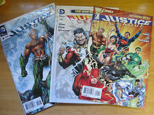 JUSTICE LEAGUE #1,2,3,4,5,6,7,8,9,10-31 - THE NEW 52.