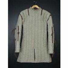 Thick Padded White Gambeson Medieval Armour Theater Custome Sca Play Movies