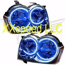 ORACLE Halo HEADLIGHTS non HID Jeep Grand Cherokee 05-07 BLUE LED Angel Demon