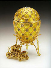 Authentic Genuine Fabergé Coronation Egg with Carriage