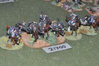 25mm napoleonic / french - cavalry 6 cavalry - cav (21400)