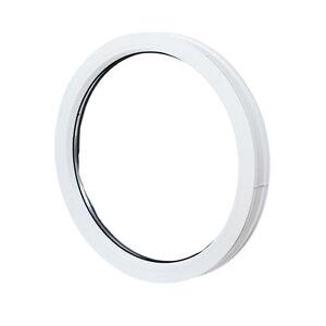 Fenêtre fixe ronde, oeil de boeuf, de haute qualité PVC NEUF VEKA