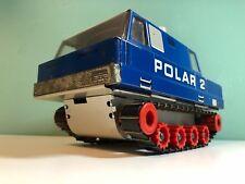 DDR Spielzeug Fernlenkauto Raupe Polar 2 Kettenfahrzeug MSB Anker Tin Toy