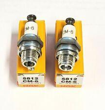 (2) NGK CM6 Spark Plugs Fits DA, DLE, 3W, GP