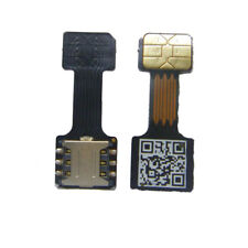 Black Dual Sim card Adapter Micro SD - Nano SIM for Huawei, Xiaomi, Samsung,