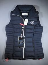 Abercrombie & Fitch Black Down Vest Girls Women XS Jacket Brand New with Tag