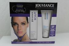 Jouviance Sculpt Resculpting Facial Contour Serum & Exfoliant Gentle Scrub NEW