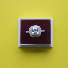Unbranded Cushion Topaz Costume Rings