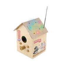 Spinning Hat Birdbox FM Radio MP3 Music Player Light-Up Birdhouse Kid Music Gift