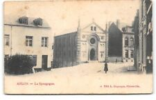 Belgium-Arlon-Jewish Synagogue-1905 Antique Postcard
