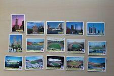 Panini WM 1994 USA 94 lot 15 different stickers (444) black back stadium