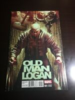 Marvel Comics OLD MAN LOGAN #1 Wolverine Deodato VARIANT Cover 1:25 HTF