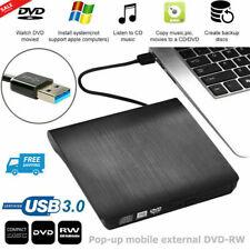External Dvd Drive, Usb 3.0 Portable Cd/Dvd+/-Rw Drive/Dvd Player for Laptop Cd