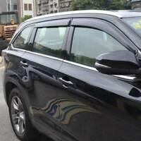For 11-18 Mitsubishi Outlander Sun Rain Guard Vent Shade Window Visors Deflector