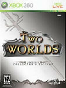 TWO WORLDS --COLLECTOR'S EDITION (MICROSOFT XBOX 360, 2007)