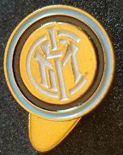Distintivo calcio INTER badge INTERNAZIONALE MILANO pin piedino TIMBRATO